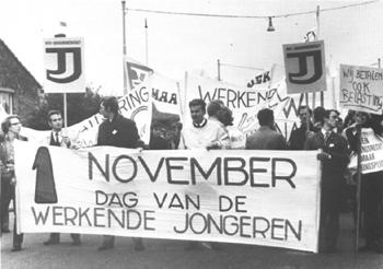 Dag van de werkende jongeren, 1 november 1969