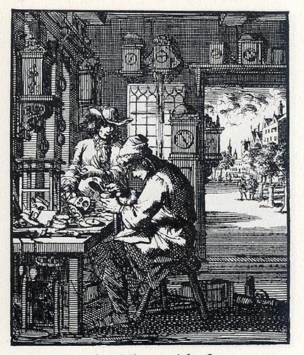 De Orlosimaaker, tekening van Jan Luyken