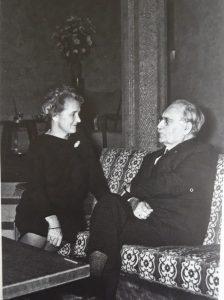 Marga Klompé en Willem Drees